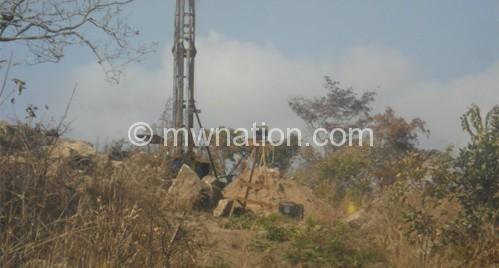 Exploration work in progress at Kanyika Niobium Project  in Mzimba