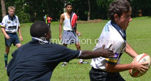 Highlights of a previous rugby games at Saint Andrew's  International High School