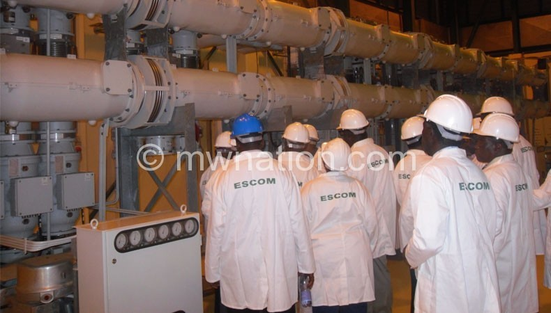 Some machines at Kapichira Power Station are faulty