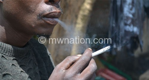 Almost 5 700 deaths in Malawi are attributable to smoking, according to  Tobacco Atlas