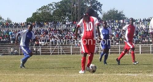 Kasenda (No. 10) share the top spot with Chiyembekeza