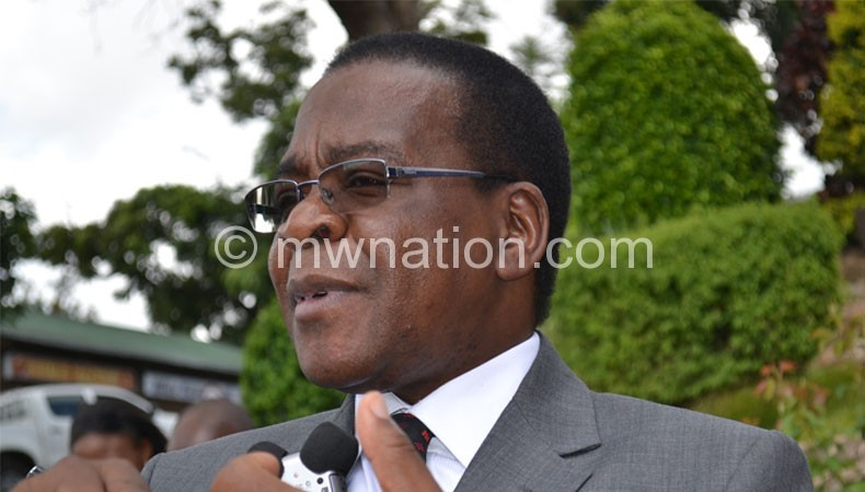 Chairperson Justice Maxon Mbendera