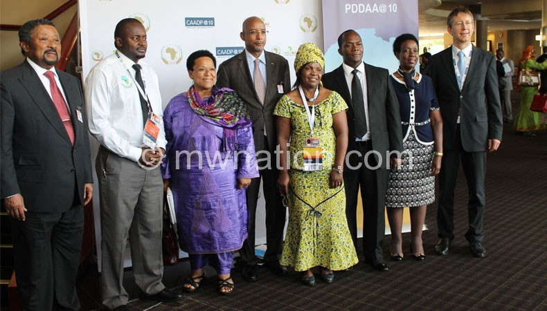 Part of the delegates at the opening of the CAADP PP