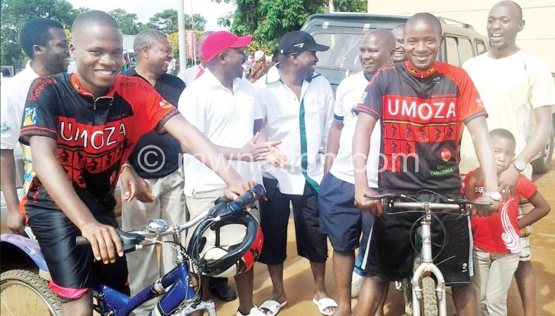 St Patricks' students get ready to cycle | The Nation Online