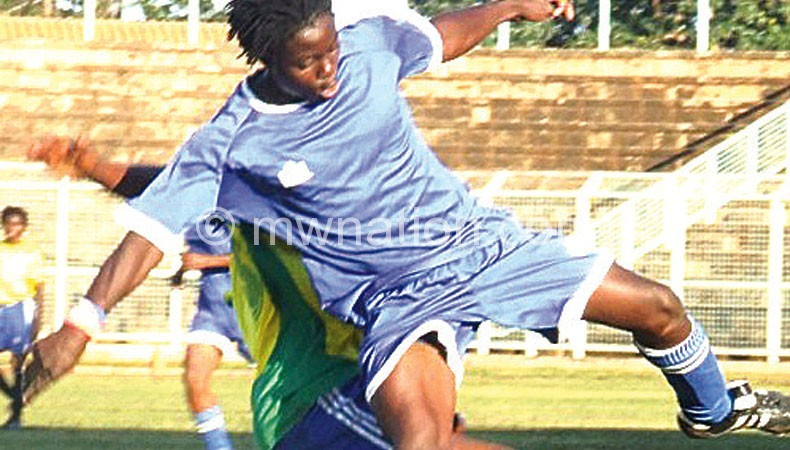Combining football with education: Chawinga