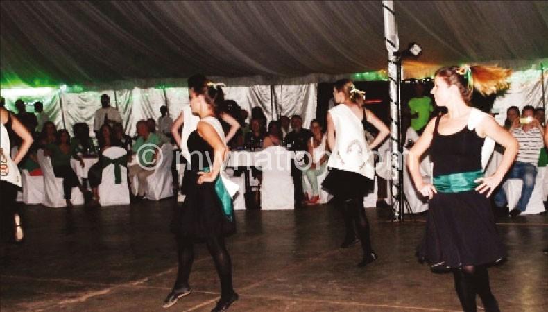 Traditional Irish dancers bring Ireland to Malawi