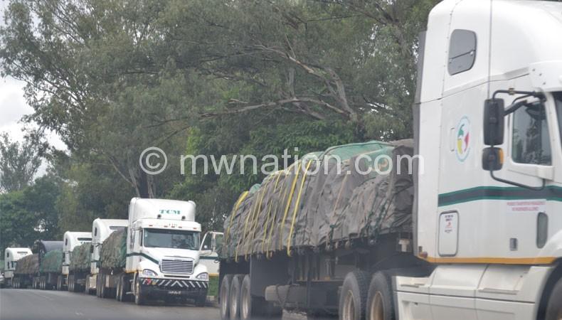Trucks at border | The Nation Online