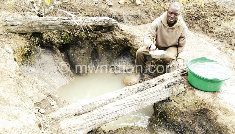Is it duty of MPs to bring boreholes to community?