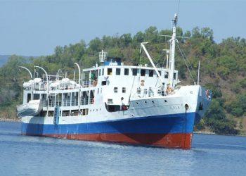 MV Illala feries tourists to music festivals on the shore of Lake Malawi