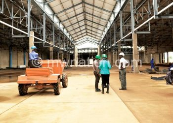 Under construction: Mpico's Gateway Shopping Mall