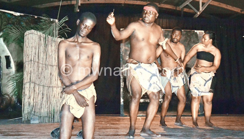 Nanzikambe Arts Theatre used to perform regularly both locally and internationally