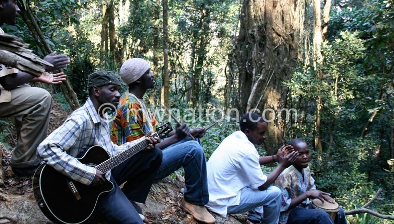 Mawanga and the Amaravi Movement are working on a new album