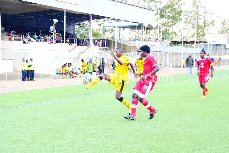 Part of the action today at  Kamuzu Stadium