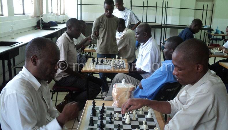 Kaunda playing chess | The Nation Online