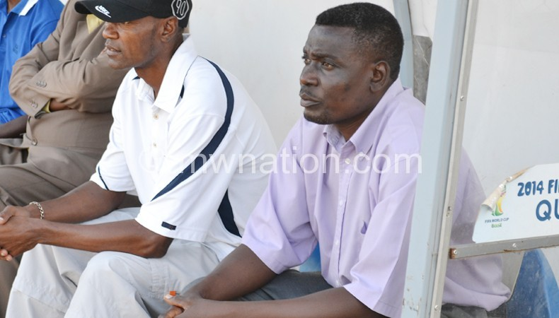 Manda (R) following proceedings from the Nomads bench in a previous encounter
