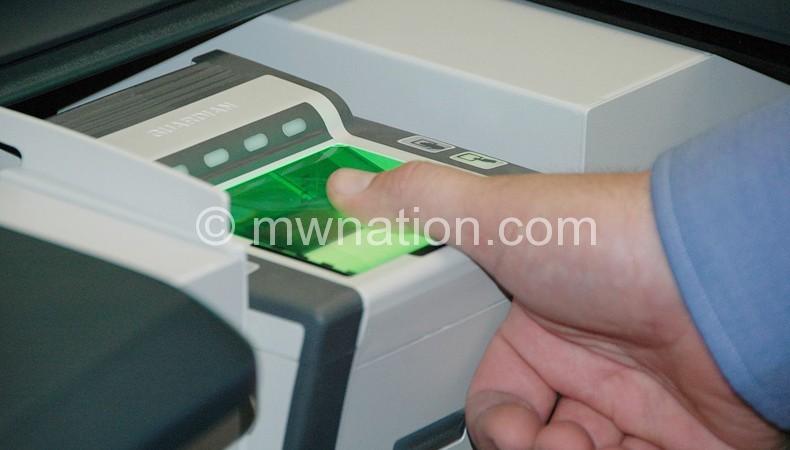 finger print system | The Nation Online