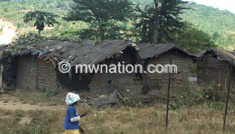Abandoned: The ruins of Kayelekera Village