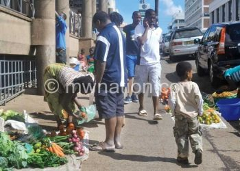 Blantyre City councillors have given street vendors until tomorrow to relocate to designated selling points