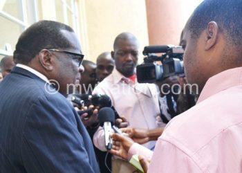 Gondwe: Restoration of fiscal discipline will be the cornerstone of govt