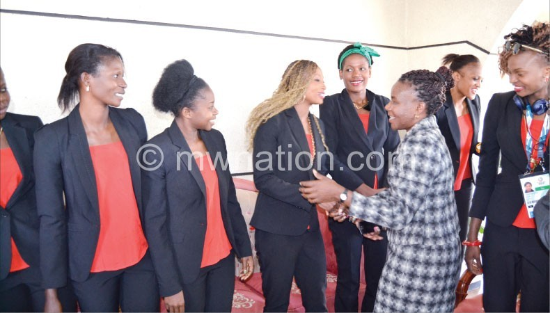Queens welcome | The Nation Online