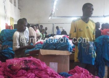 Texile factory in Blantyre: Malawi does not fully utilise the US Agoa market