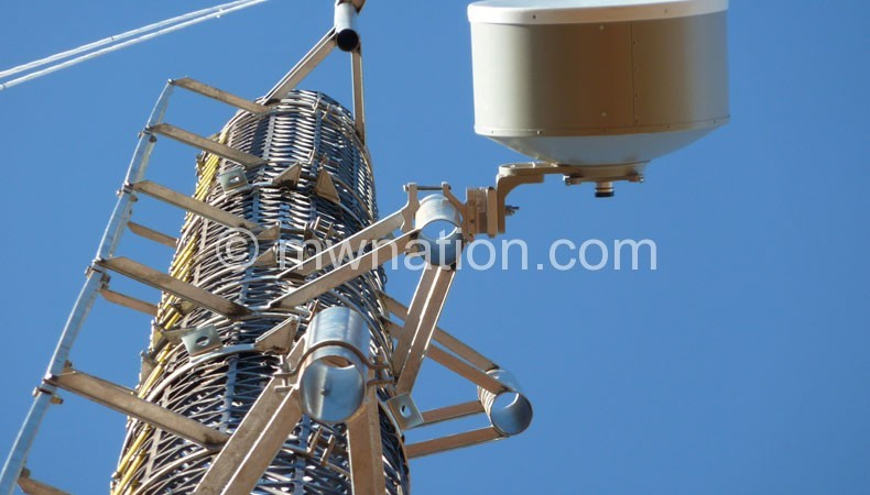 Telecommunications firms are yet to start sharing towers such as this one