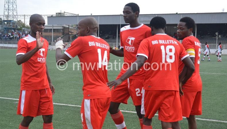 Bullets chiku kanyenda left   The Nation Online