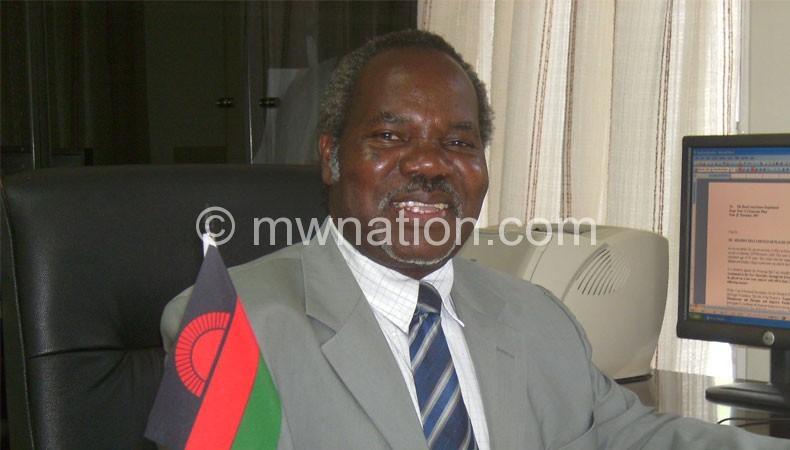 Reappointed vicechancellor: Kanyama Phiri