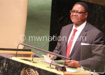 Mutharika: Reflect on the past