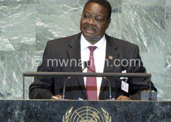 Mutharika: Continue good work