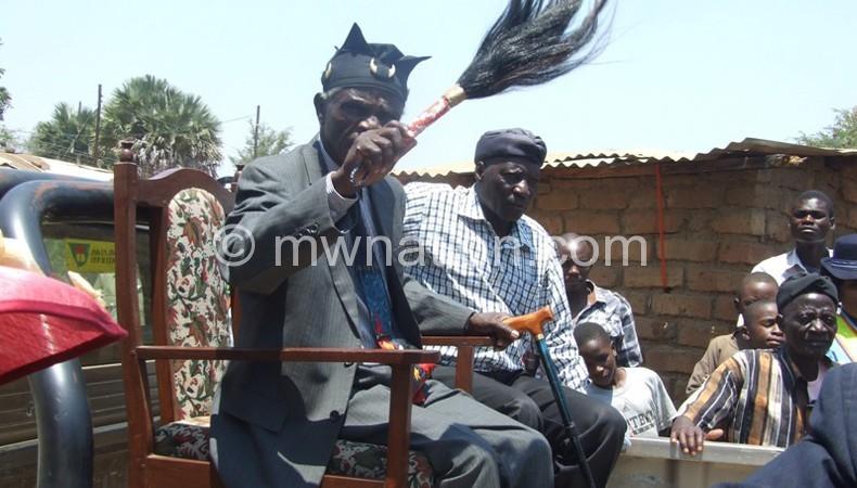 Paramount Chief Chikulamayembe