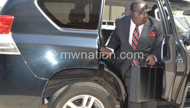 Gondwe: We should cut expenditure