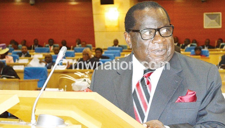 Gondwe: I gather he had a list of parliamentarians