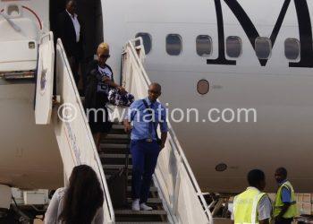 Mafikizolo arrival at Chileka Airport