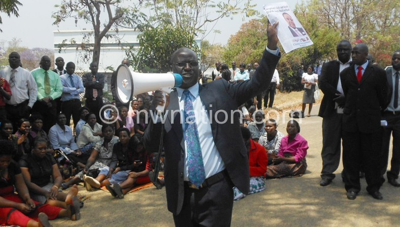 Sakala: After two days, nationwide strike will follow