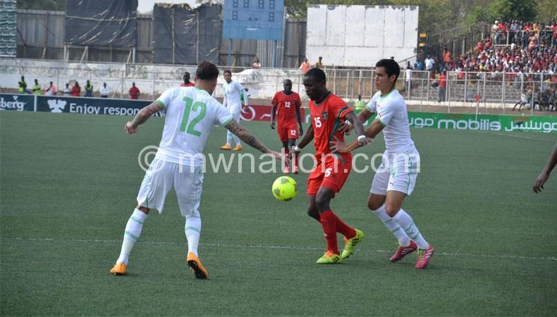 Flames vs algeria | The Nation Online