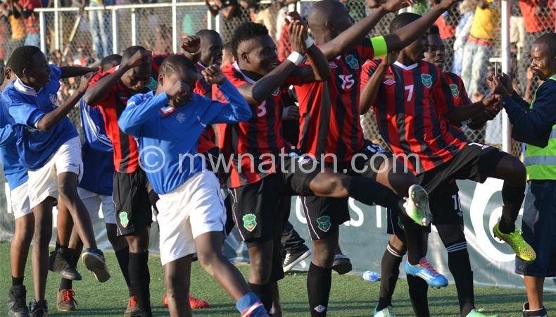 Flames afcon celebration | The Nation Online