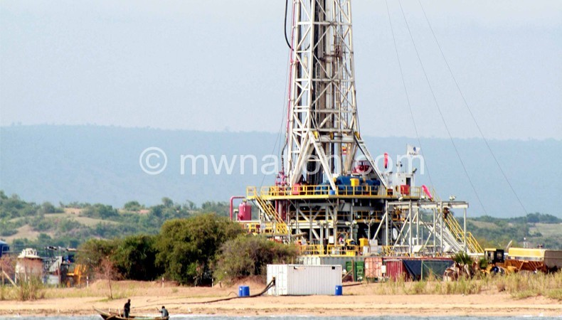 Oil drilling ofshore lakemalawi | The Nation Online