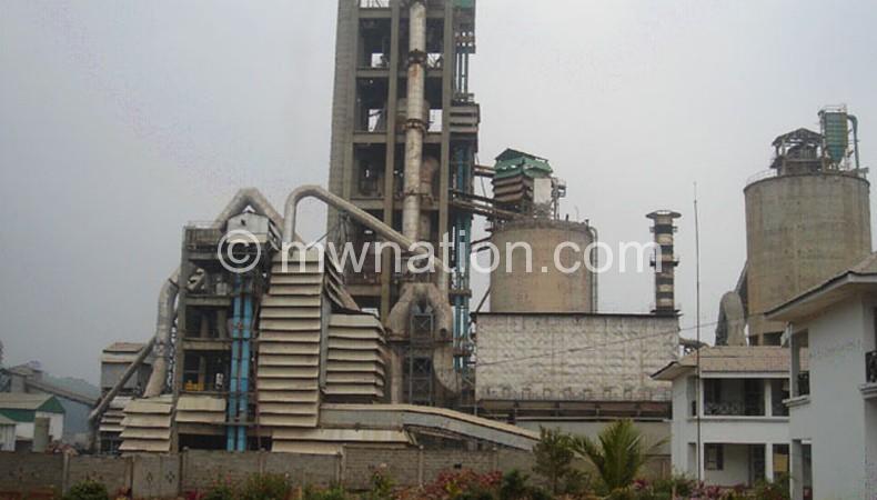 Shayona Cement factory in Kasungu