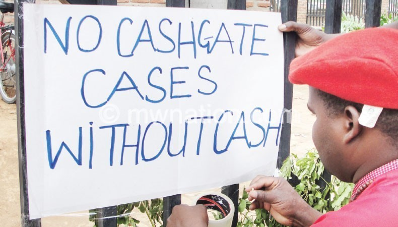 Cashgate strike   The Nation Online
