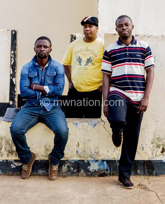 Soul Raiders (L-R), Suzi Marcus, Prince Martin and Montfort Manyozo, are set forthe pre-luanch