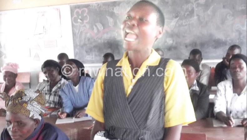 Weruzani: School first, marriage can wait