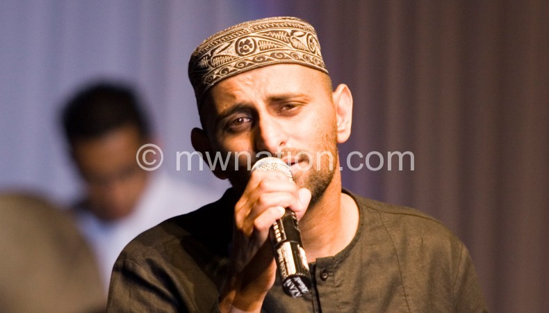 Zain Bhikha will perform in Blantyre and Lilongwe