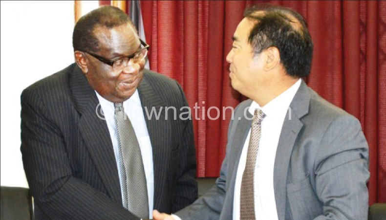 It's a deal: Gondwe and Qingyang