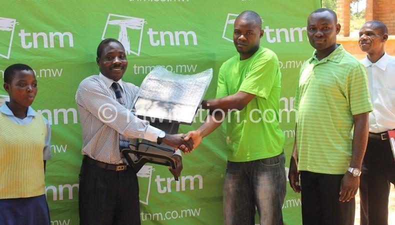 TNM promotion helps school launch ICT studies