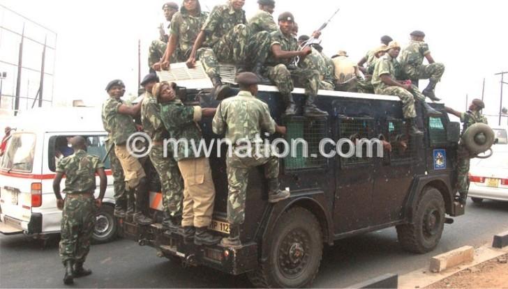 Police chimbaula e1444485170777   The Nation Online