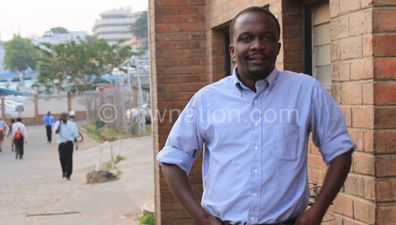 Nhlema:  Making his tribute