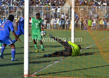 Aso scoring the goal that saw off sensational Surestream