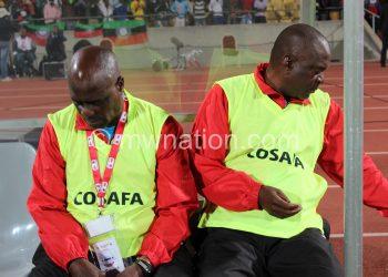 Their removal has created vacancies: Chamangwana (L) and Chimodzi