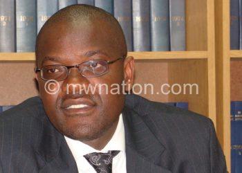 Tembenu spoke during the meeting